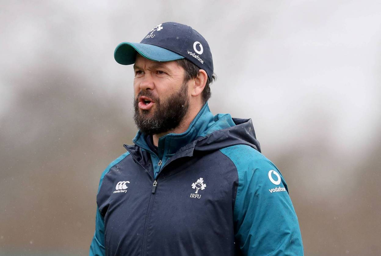 Andy Farrell – Ireland Head Coach on Six Nations, Autumn Schedule and Lockdown