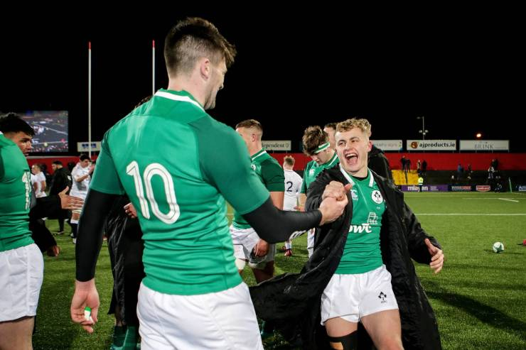 Byrne And Casey To Lead Ireland Under-20s' Grand Slam Bid In Wales