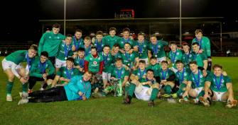 Grand Slam Glory For Ireland Under-20s In Colwyn Bay