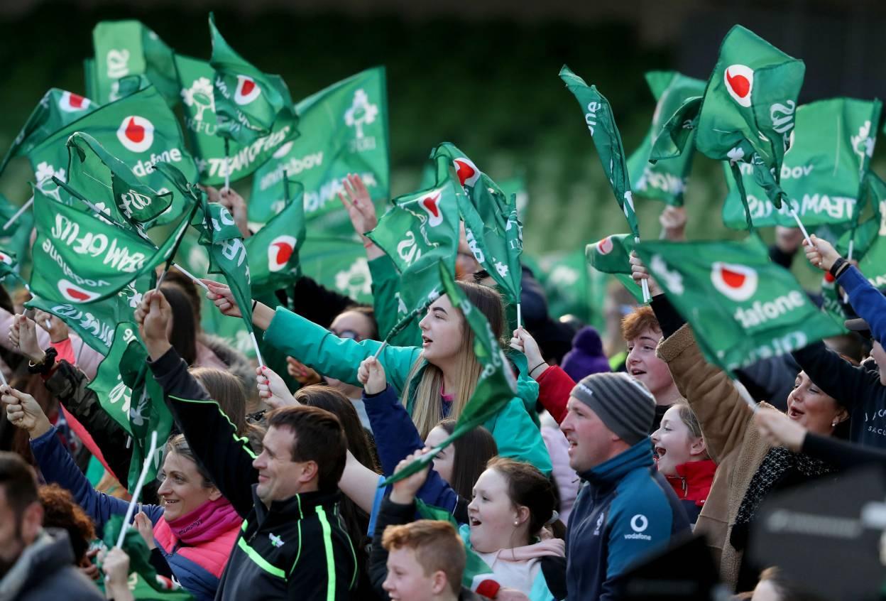 Ireland fans Mandatory Credit ©INPHO/Dan Sheridan
