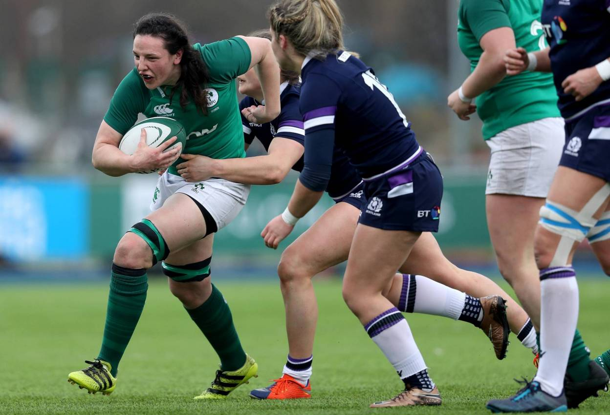 Bourke And Fitzpatrick To Play For Barbarians Women Against USA
