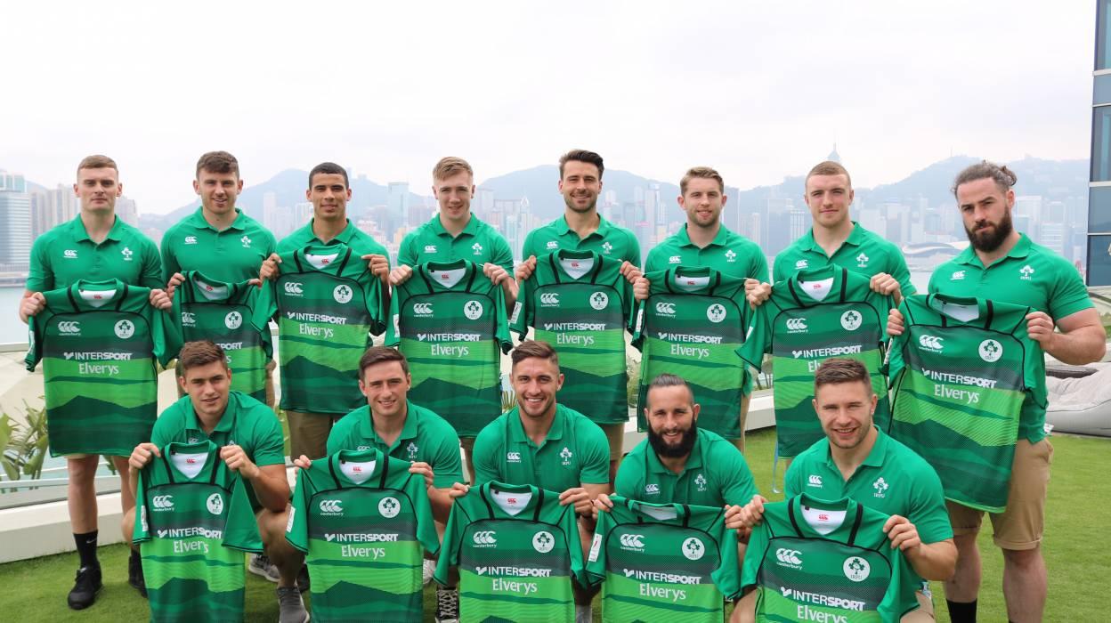 385861a7b63 Ireland Men s Sevens Team Ready For Hong Kong Challenge