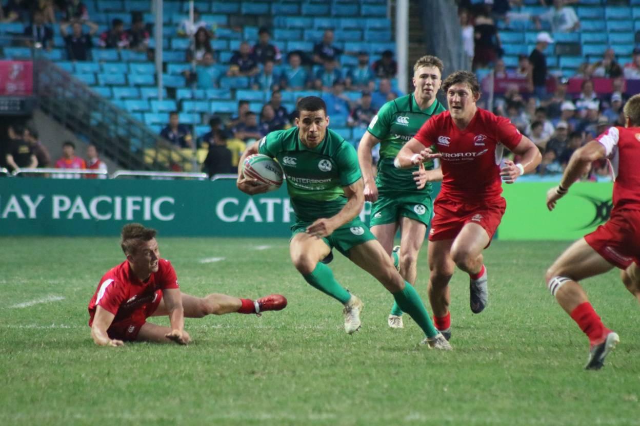 Ireland Men's 7s Progress To Hong Kong 7s Semi-Final