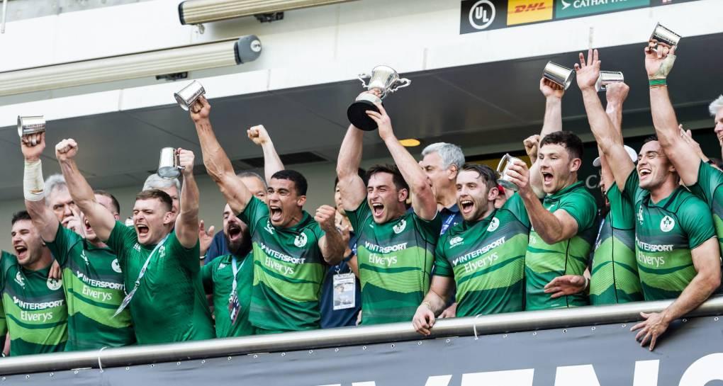Ireland Men Complete Unbeaten Hong Kong Run To Reach World Sevens Series
