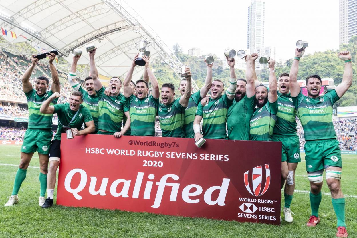 Ireland Men Clinch World Sevens Series Qualification In Hong Kong