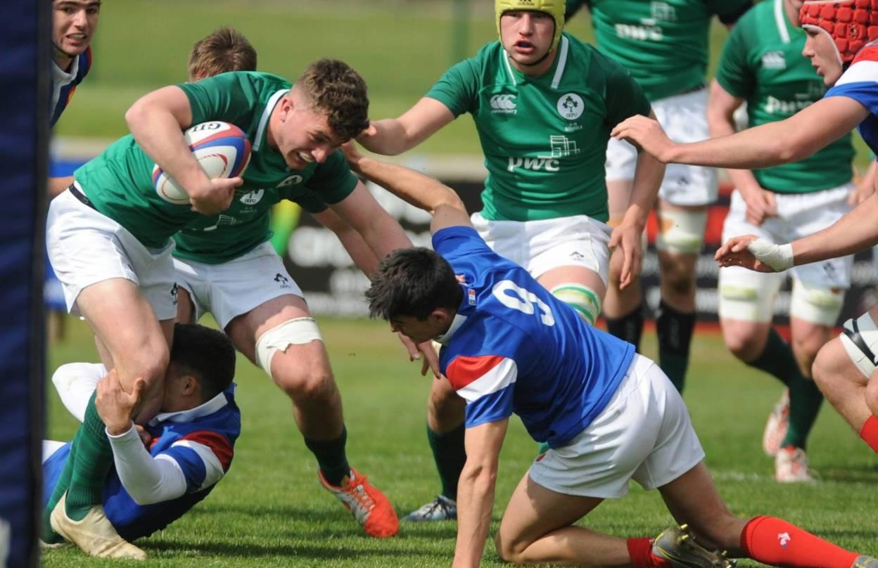 Ireland U-18 Schools Team Announced For England Game