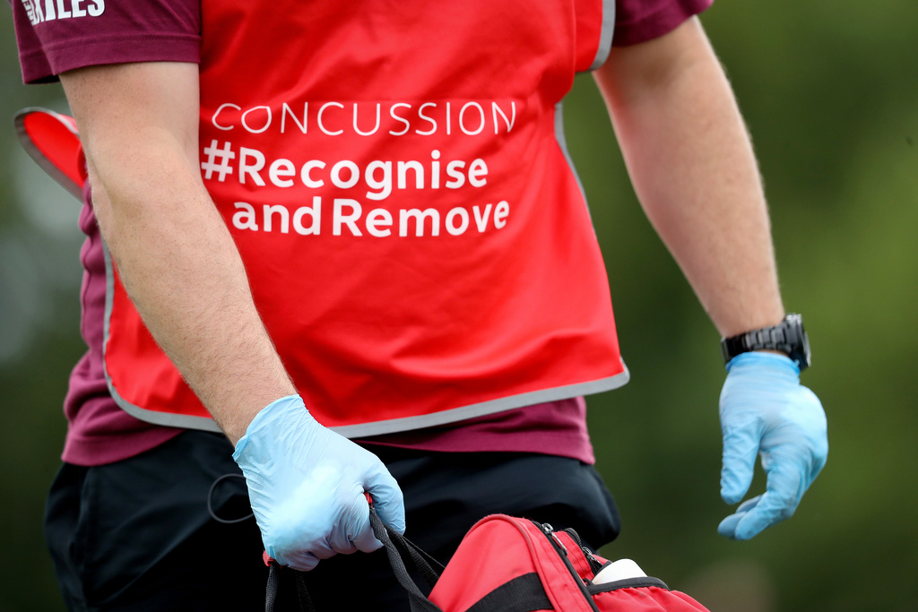 Irish Rugby Football Union Concussion Recognition
