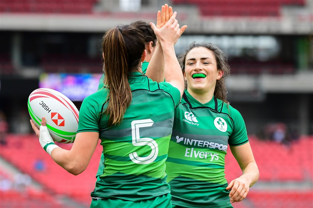 Burns Included In Ireland Women's Sevens Squad For Kitakyushu