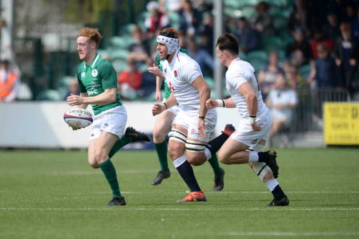England Hold Out Despite Strong Finish From Ireland Under-18s