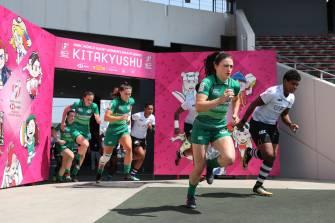 Ireland Women's 7s Make Kitakyushu 7s Quarter-Finals
