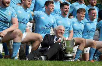 Irish Rugby TV: Cronin Brothers Toast Garryowen's Bateman Cup Success