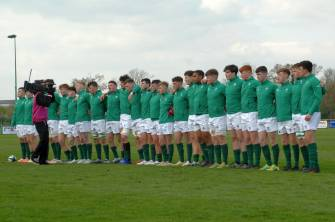 Ten Changes Made To Ireland U-18 Schools Team For Festival Finale