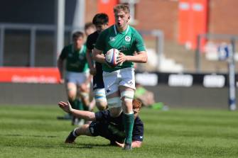 Ireland U-18 Schools Side Pipped By Scotland In Ten-Try Thriller