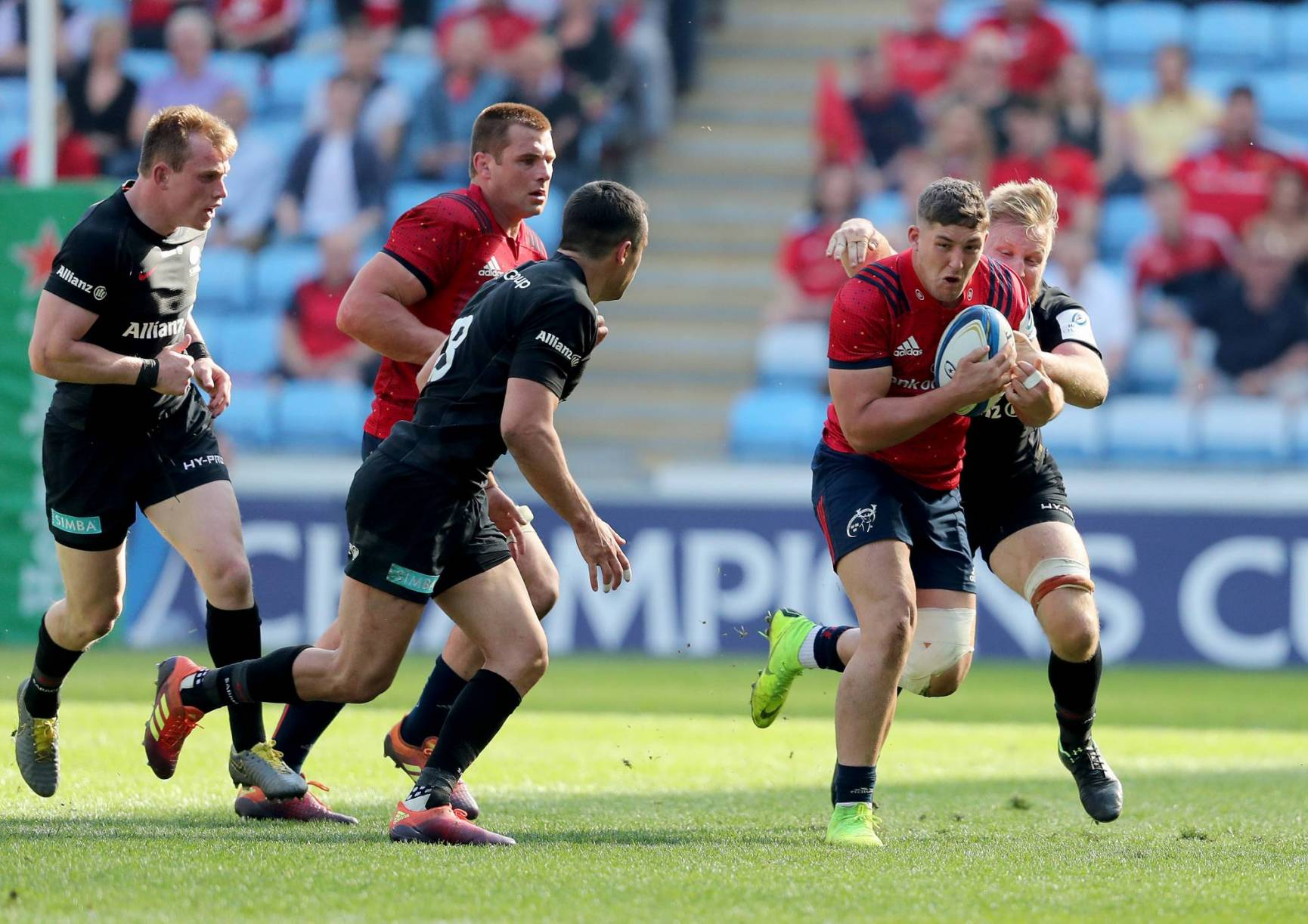 Munster Slip Away In Second Half As Saracens March On