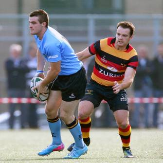 UCD Lower Lansdowne's Colours On Opening Day