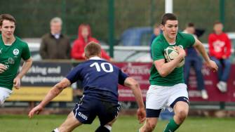Superb Second Half Sets Up Win For Irish Schools Team