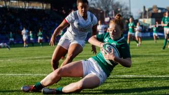 Sheehan Scores Debut Try In Ireland Women's Defeat To Eagles