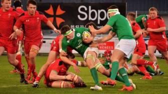 Ireland Schools Side Lose Tight Play-Off In Balma