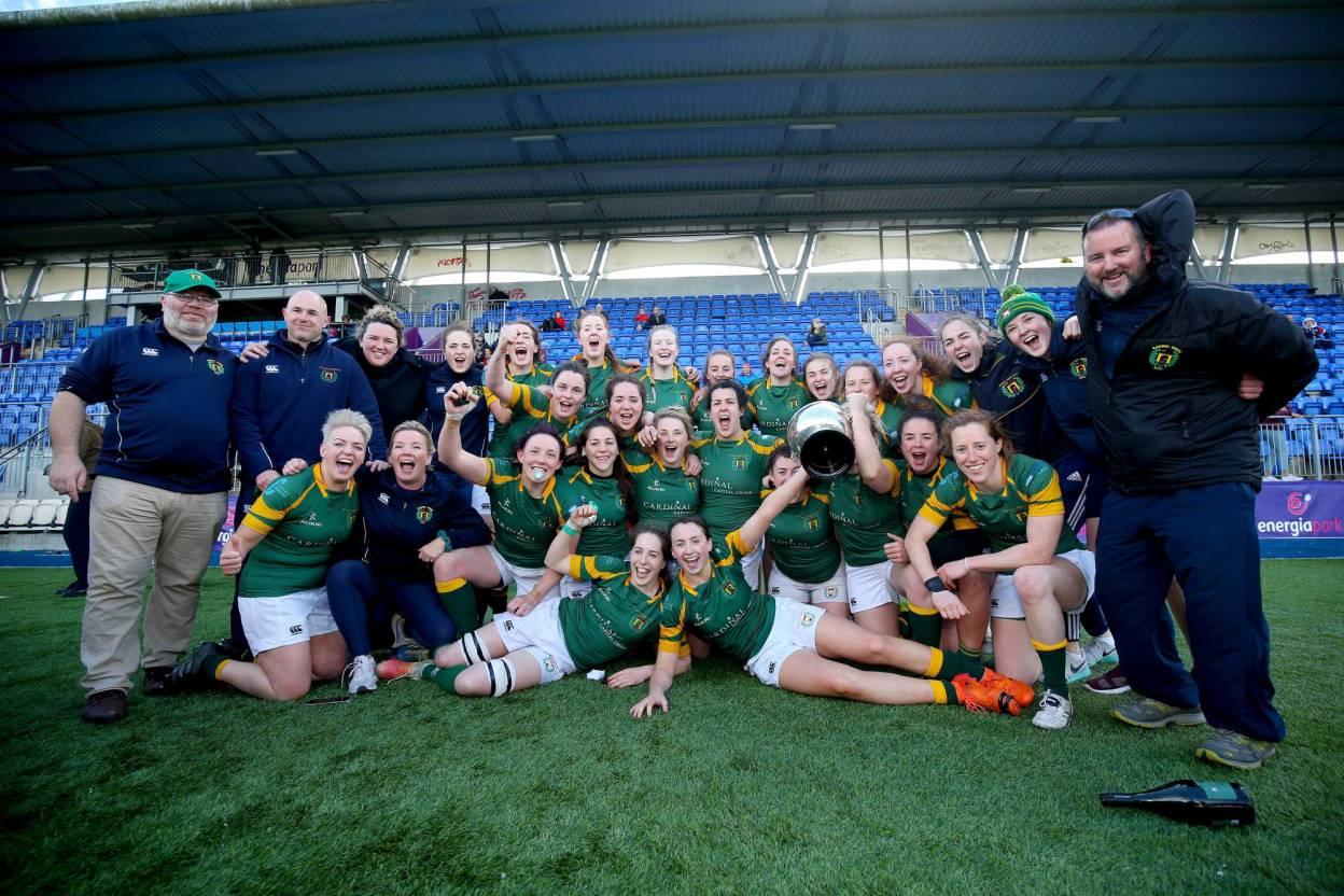 Railway Union Revel In First Women's All-Ireland League Title Success