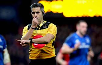 Five IRFU Referees Included On Match Official Panel For PRO14 Final Series