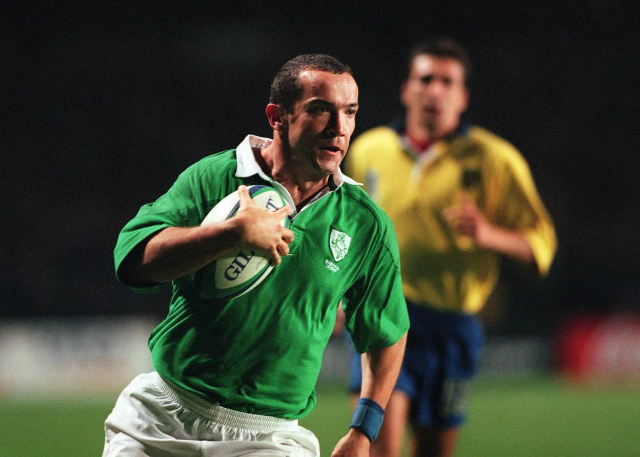 Rugby Players Ireland Bestow Hall Of Fame Honour On O'Shea