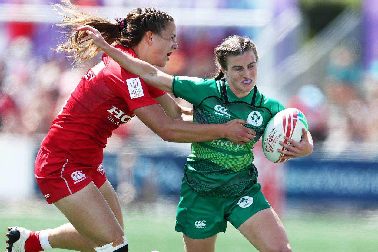 Ireland Women's 7s To Face China in Challenge Semi-Final At The Canada 7s