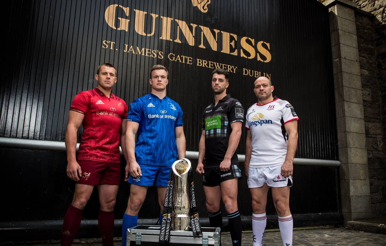 GUINNESS PRO14 Launch Tournament OTT Service With StreamAMG