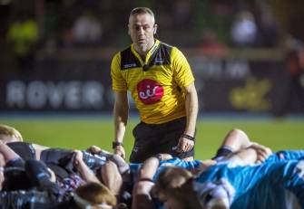 Lacey To Referee PRO14 Semi-Final In Glasgow