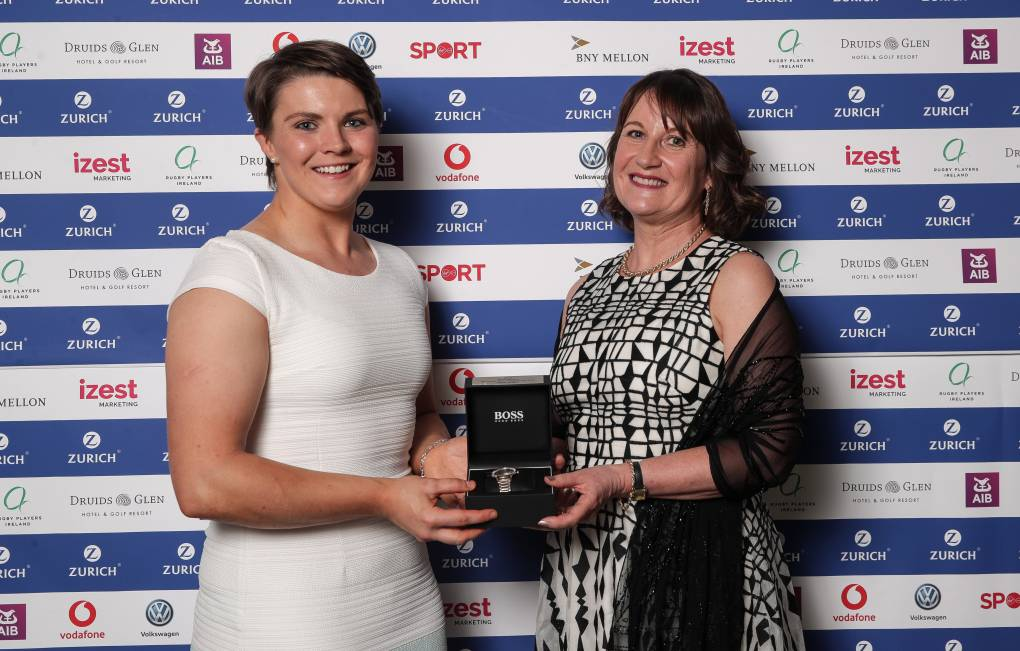 Season's Best Celebrated At Zurich Irish Rugby Players Awards