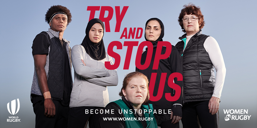 • #TryAndStopUs campaign features 15 inspirational women and girls with 'unstoppable' qualities from around the globe