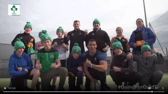 #Going4Gold7s - The boys from the Youth Resource Centre in Finglas with the Ireland Men's 7s players