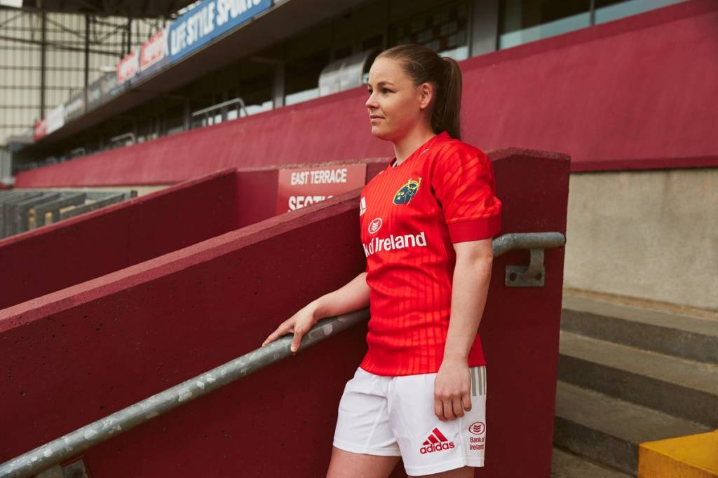 """c8d314158 Commenting on the new jerseys, Shireen McDonagh, Head of Brand and  Sponsorship at Life Style Sports, said: """"Munster and adidas have created  two masterpieces ..."""