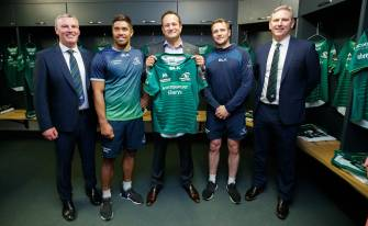 Taoiseach Visits Sportsground As Connacht Redevelopment Gets Full Planning Approval