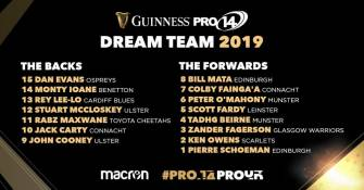 All Four Provinces Represented In PRO14 Dream Team Line-Up
