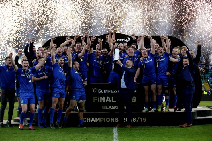 Leinster Show Champions' Mettle To Retain PRO14 Crown In Glasgow