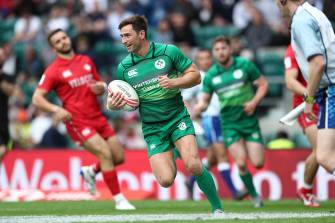 Ireland Men's Sevens Squad Selected For Moscow 7s