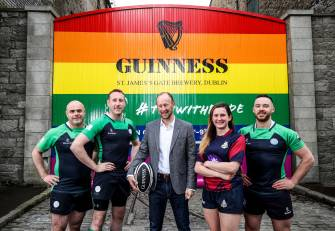 Guinness Gates Transformed To Support 2019 Union Cup In Dublin