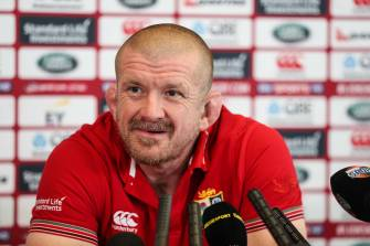 Graham Rowntree Announced As Munster's New Forwards Coach