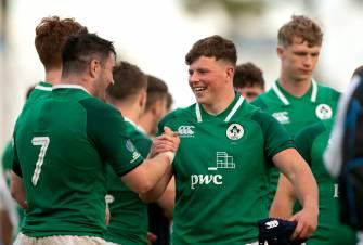 Ireland Under-20s Defeat England – Live Blog