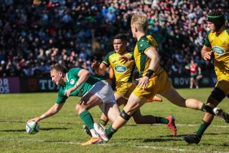 14-Man Ireland Falter In Final Quarter Against Impressive Junior Wallabies