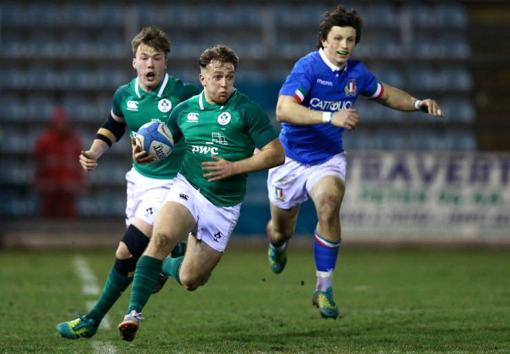 Turner To Captain Ireland Under-20s Against Italy