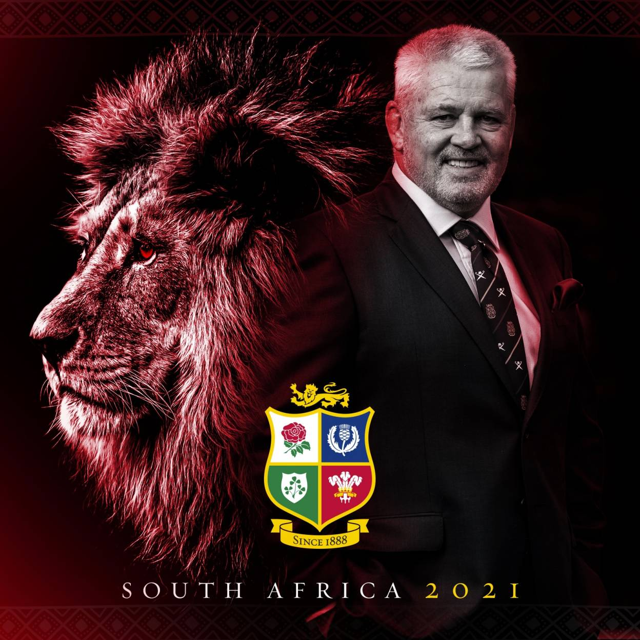 Warren Gatland Appointed Lions Head Coach For 2021 Tour