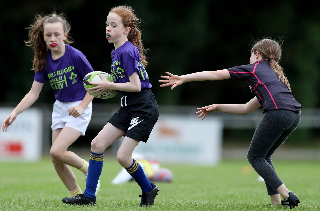 Give It A Try to bring more girls into rugby in 2020