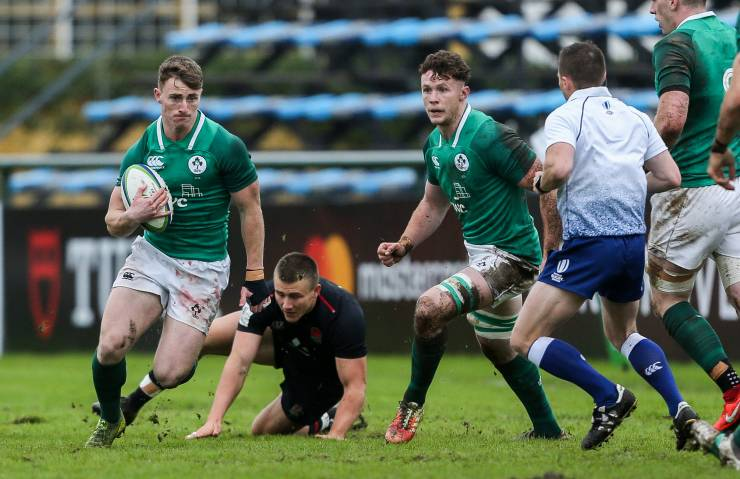 Ireland Under-20s Leak Last-Minute Try In Titanic Tussle With England