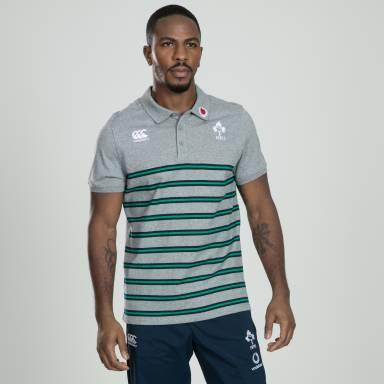Men's Cotton Ireland Stripe Polo