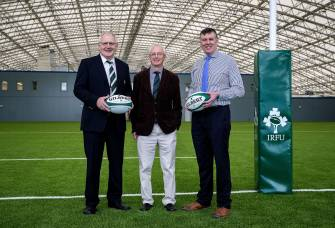 Official Welcome For IRFU To Sport Ireland Campus
