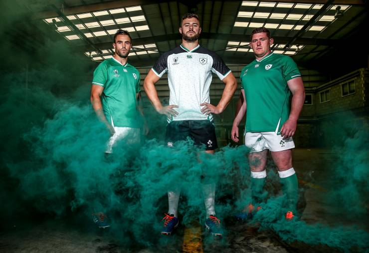 Ireland's Rugby World Cup Jersey Is Launched