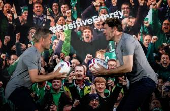 O'Gara & Horgan Launch Energia's New Rugby Campaign 'The Power Behind Positive Energy'