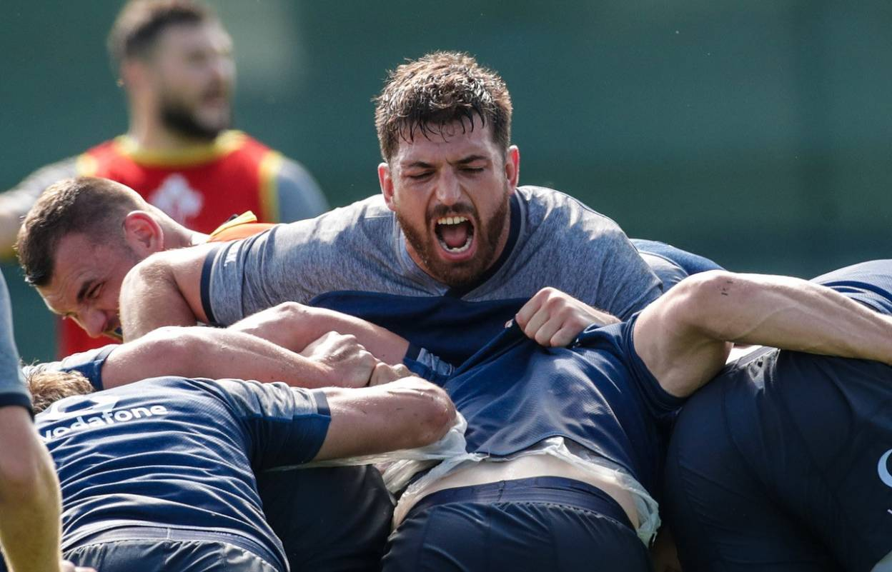 Jean Kleyn will make his Ireland debut against Italy on Saturday ©INPHO/Billy Stickland