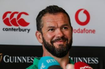Ireland v Italy Team Announcement Press Conference